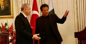 """Cumhurbaşkanı Erdoğan: """"Türkiye dün olduğu gibi bugün de yarın da her zaman Pakistan'ın yanında yer alacak"""""""