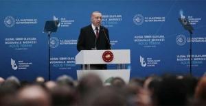 """Cumhurbaşkanı Erdoğan: """"Ülkemizi siber güvenlikte dünya çapında bir marka haline dönüştüreceğiz"""""""