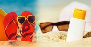 Tatilde güneş koruyucu krem seçilirken dikkat edilmesi gereken önemli bilgiler