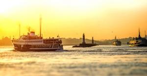 İstanbul'da 5 kuruşa vapur yolculuğu