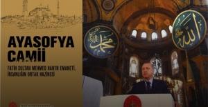 İletişim Başkanlığından Ayasofya Camii kitabı ve internet sitesi