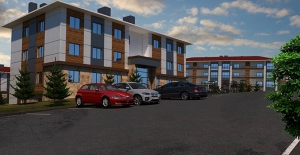 TOKİ'den İzmir Torbalı'ya zemin +2 planda yatay mimarili 161 konut