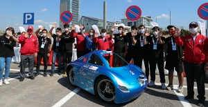 Teknofest'te genç yetenekler geleceğin otonom araçları için yarıştı