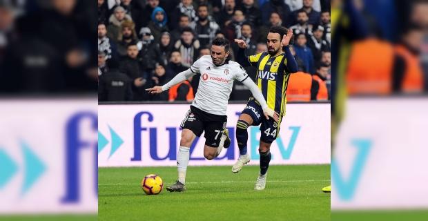 Beşiktaş-Fenerbahçe derbisinde gol yağmuru