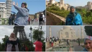 25 ülke gezen 'hür kız' Ayşe Teyze