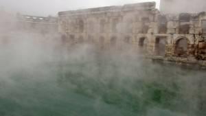 2 bin yıllık Roma hamamı görkemi ile göz kamaştırıyor