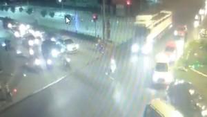 2 gencin öldüğü kaza kamerada