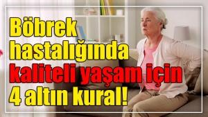 Prof. Dr. Ülkem Çakır'dan böbrek hastalığında kaliteli yaşam için 4 altın kural!