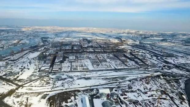 3. Havalimanında çalışmalar kar kış demeden sürüyor