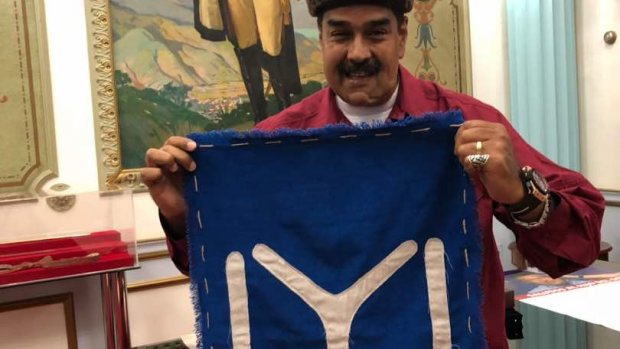 Venezuela Devlet Başkanı Maduro'dan Diriliş Ertuğrul dizisine övgü