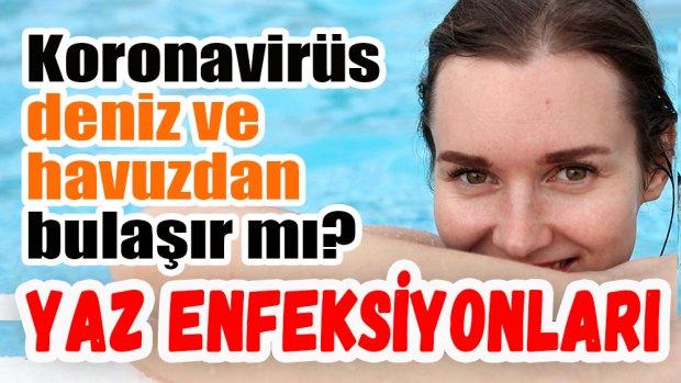Koronavirüs deniz ve havuz suyundan bulaşır mı?