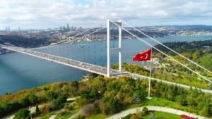 İstanbul'da mest eden sonbahar manzarası