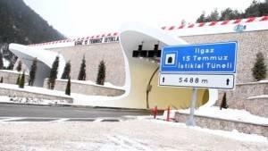 İşte 'Ilgaz 15 Temmuz İstiklal Tüneli'