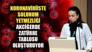 """Doç. Dr. Nesrin Öcal: """"Koronavirüste solunum yetmezliği akciğerde bir zatürre tablosu oluşturuyor"""""""